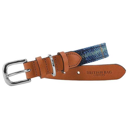 Harris Tweed 25mm Small Dog Collar