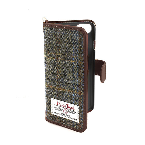 Carloway Harris Tweed Large iPhone Case