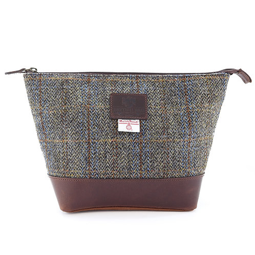 Carloway Harris Tweed Washbag