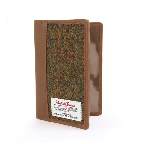 Stornoway Harris Tweed Passport Holder Front View