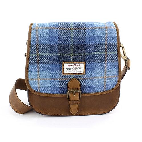 Castlebay Harris Tweed Ladies Saddle Bag Front View