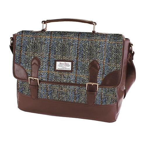 Carloway Harris Tweed PU Briefcase