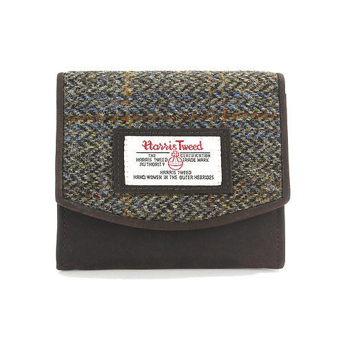 Carloway Harris Tweed Ladies Small Purse Front View