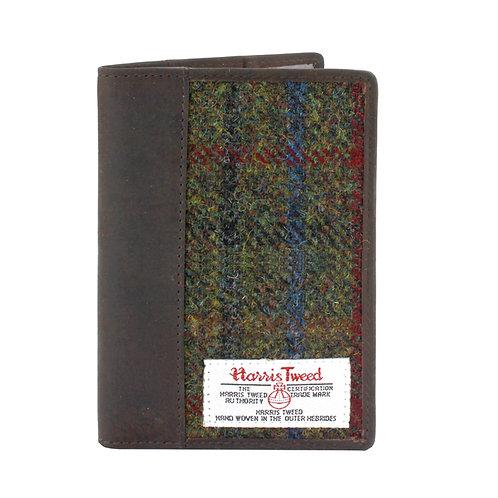 Breanais Harris Tweed Passport Holder Front View