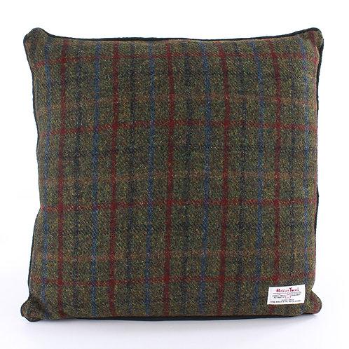 Breanais Harris Tweed Cushion Front View