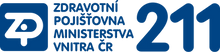 Zdravotní pojišťovna ministerstva vnitra logo