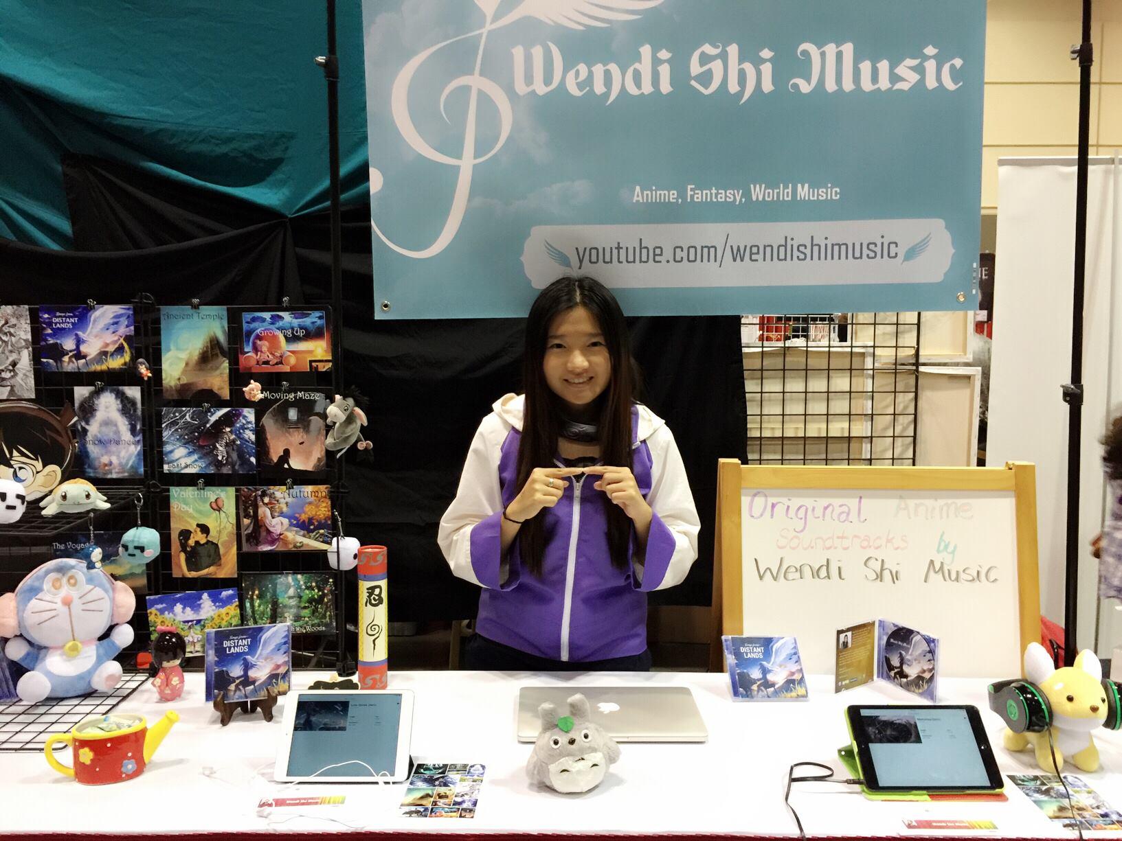 Exhibiting My Music at MegaCon
