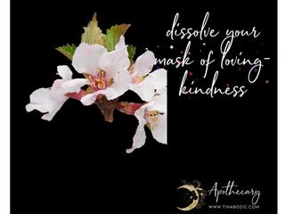 Dissolve your mask of loving-kindness