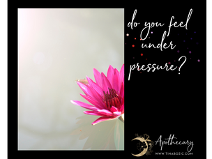 Do you feel under pressure?