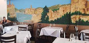 Nicolinis finedining with al fresco mural