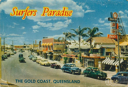 Surfers Paradise early 1970s