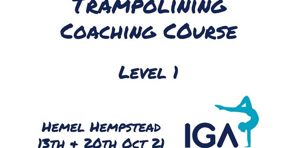 Trampolining Level 1