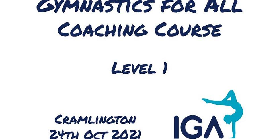 Gymnastics for All Level 1 - Cramlington
