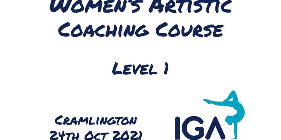 Women's Artistic Level 1 - Cramlington