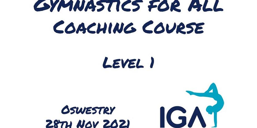 Gymnastics for All Level 1 - Oswestry