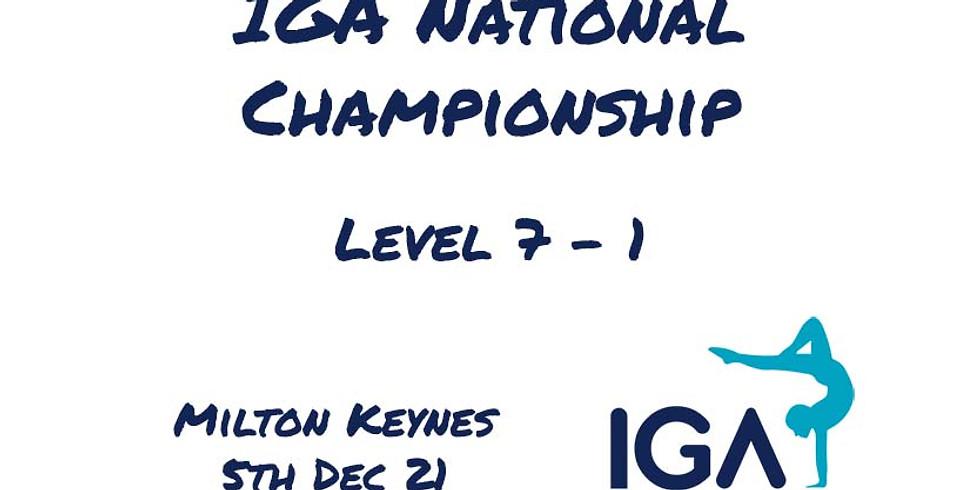 IGA Levels 7-1 National Championship
