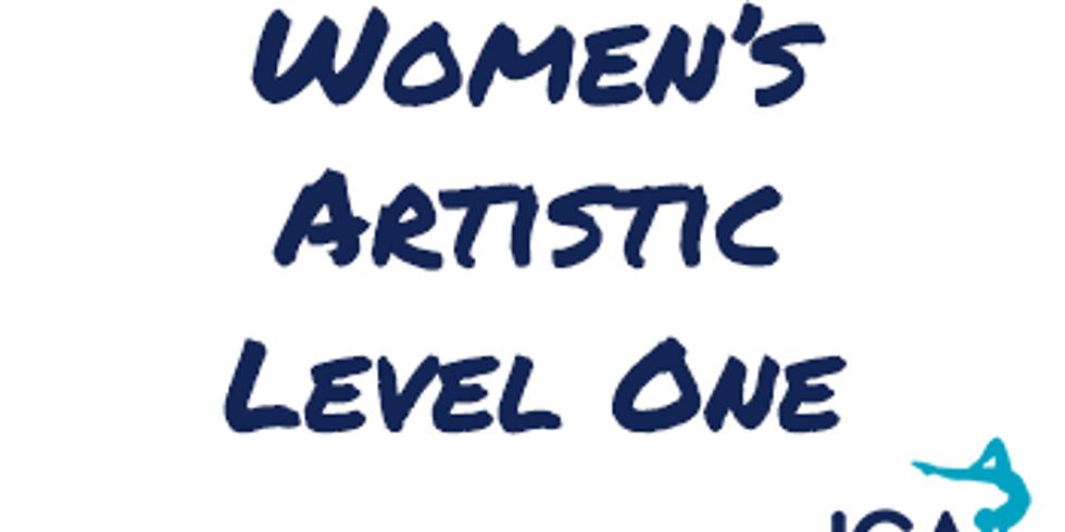 Women's Artistic Level 1 - Hull