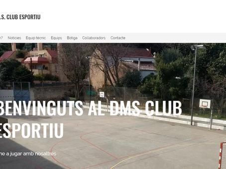 El CE DMS estrena nova web!!