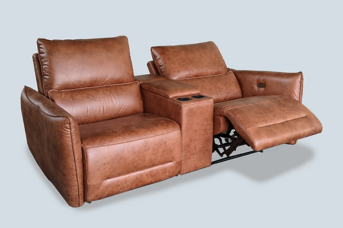 2 Recliner Seater with Console