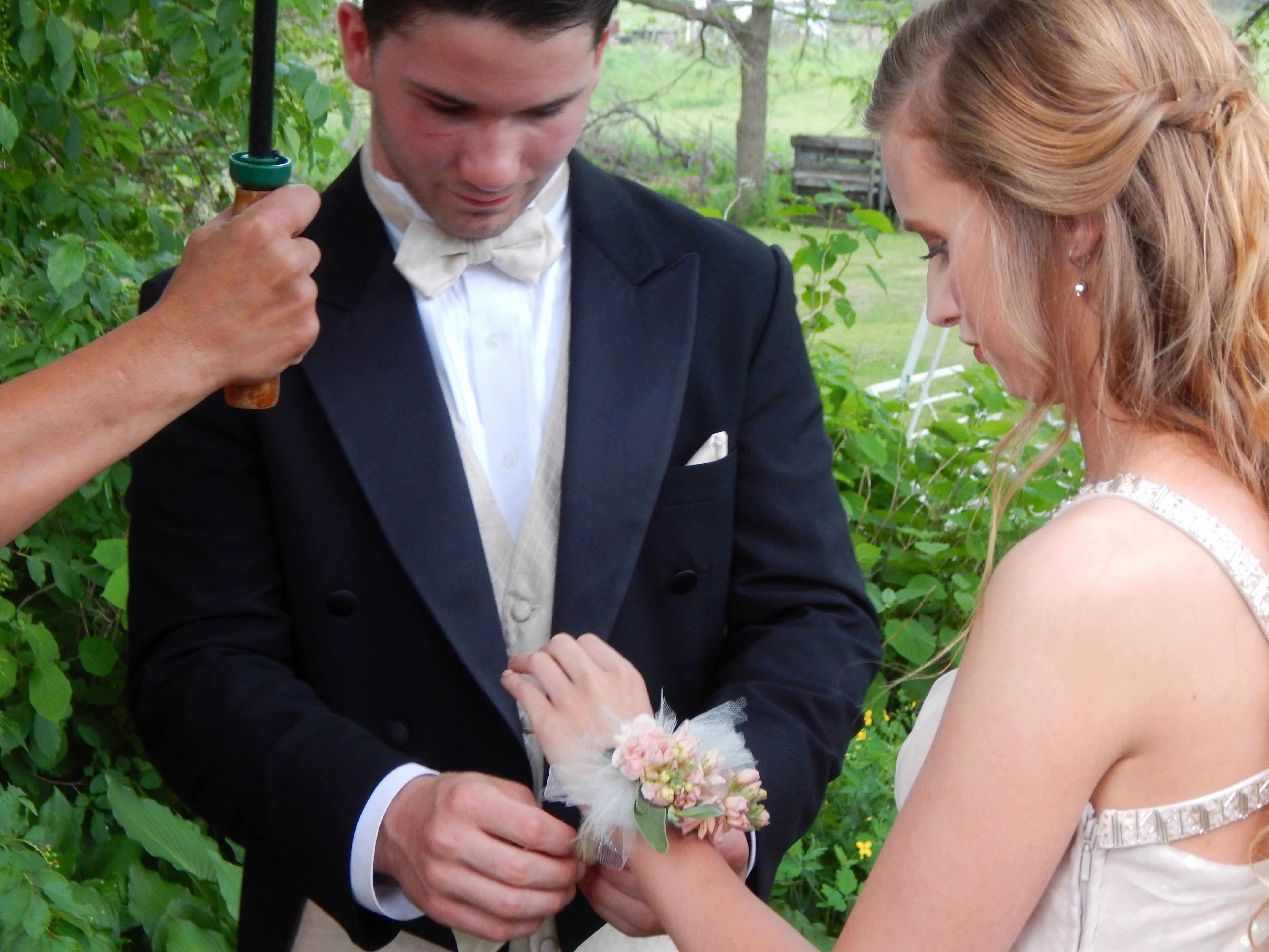 Abby's corsage
