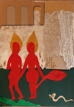 Adam-and-Eve-50x35-mixedmedia