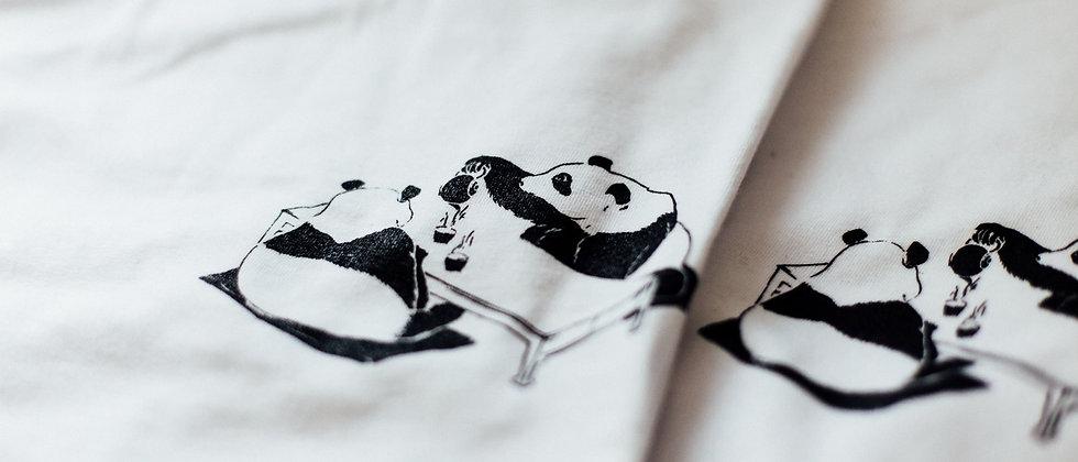 panda tea - white