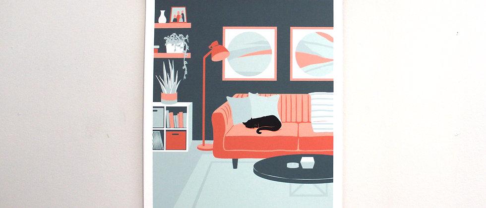 spaces art print 1/3