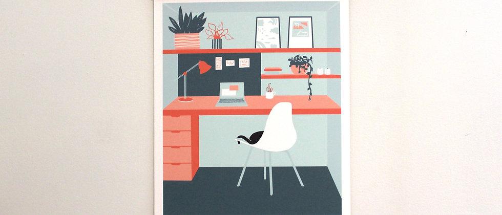 spaces art print 2/3