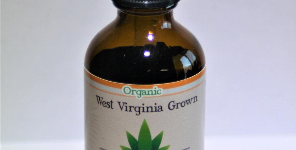 1 Ounce Refined Coconut Oil (MCT) Organic CBD Oil