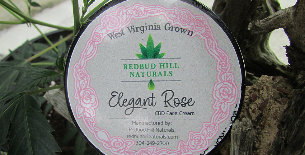 CBD Face Cream    Elegant Rose