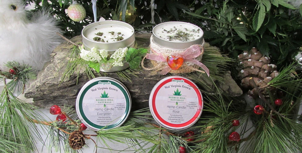 Hemp Candle  Special Price While Supplies last