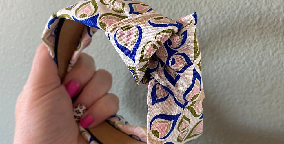 Mandala Floral Knotted Headband