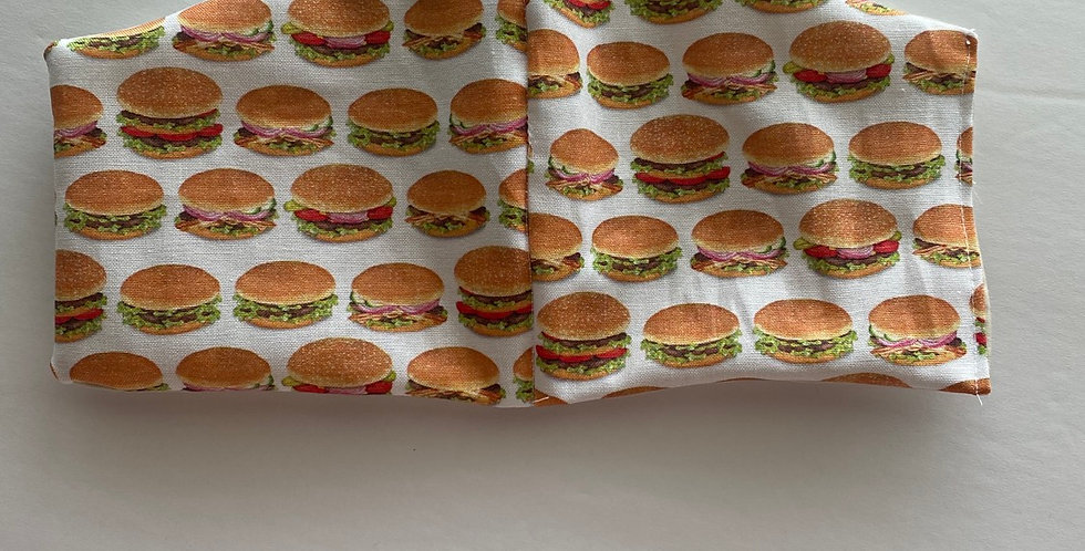 Hamburgers Face Mask