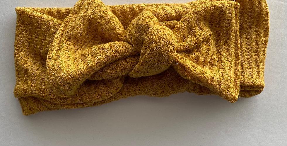 Waffle Bow Knit headbands