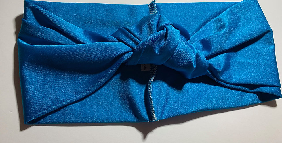 Ocean Blue Active Knotted Headband