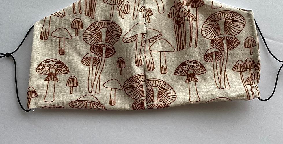 Mushrooms Face Mask