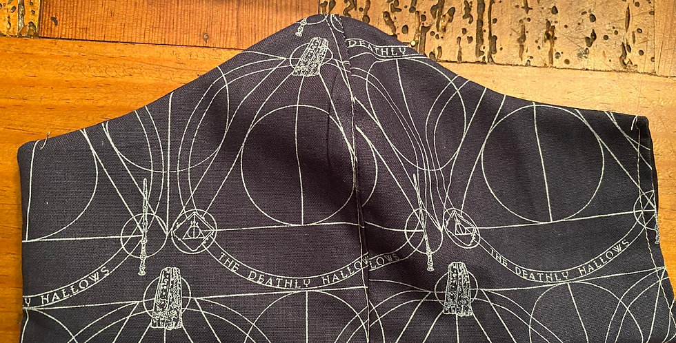 Deathly Hallows Face Mask