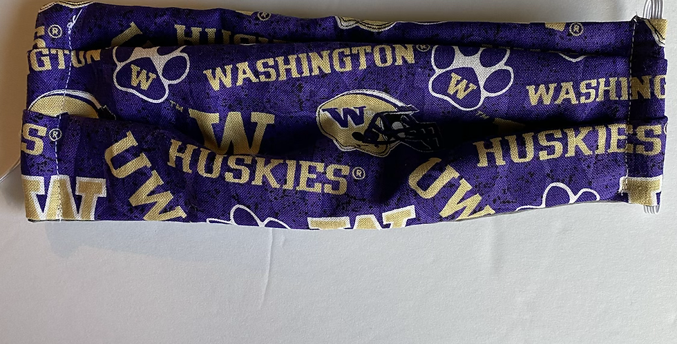 Washington Huskies Face Mask