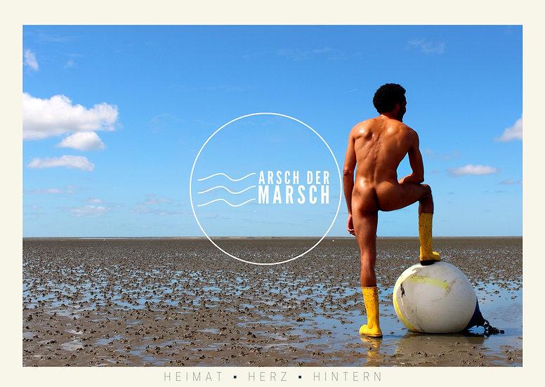 Arsch der Marsch Kalender 2021 - Titelblatt