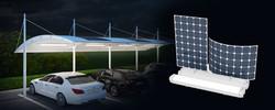 Truelite Solar  Carport  LED Light