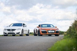 Audi R8 & BMW M4