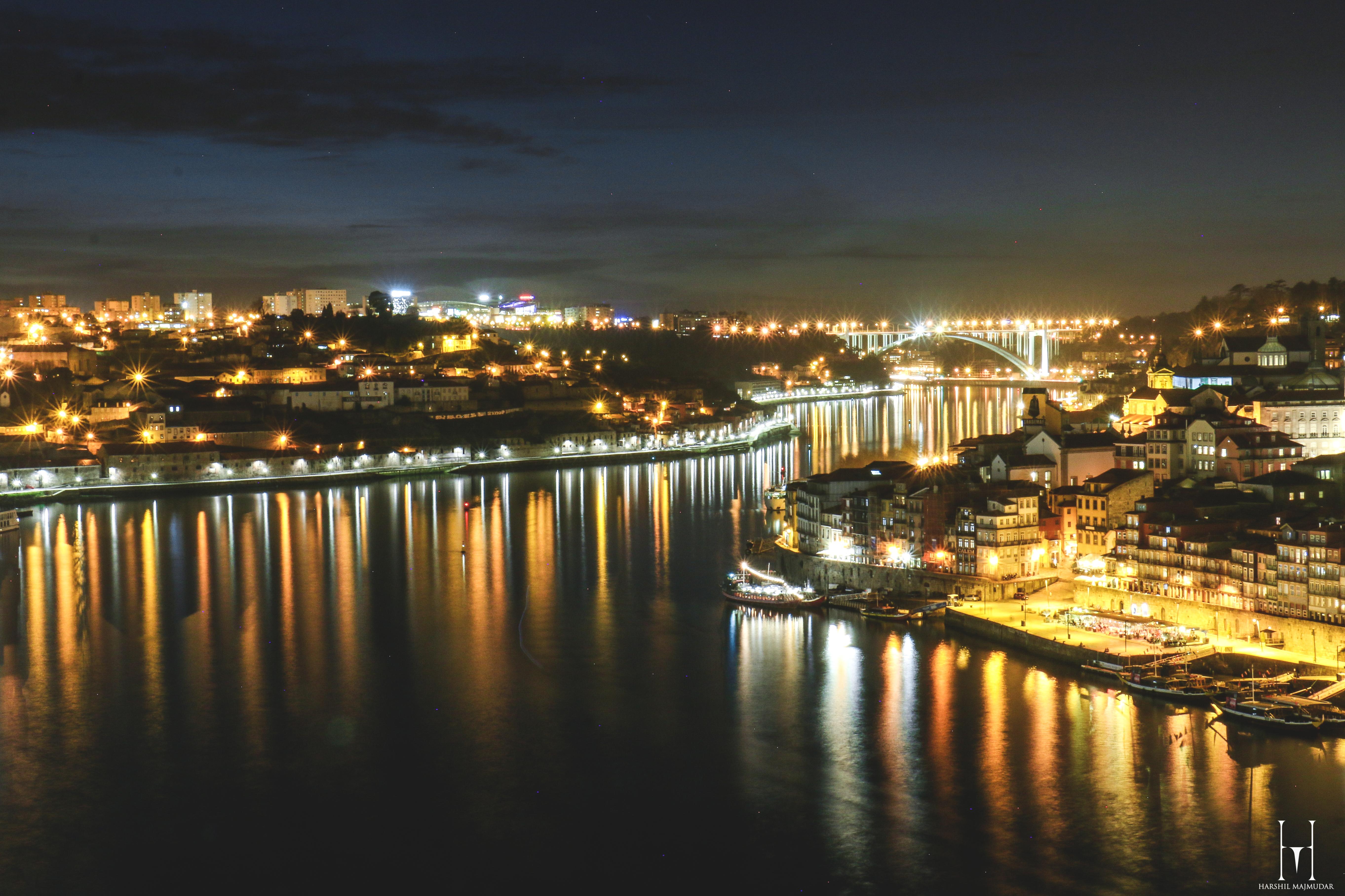 Cais De Riberia  from Luis Bridge