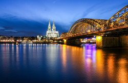 Cologne Cathedral Hohenzollern Brdg