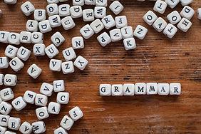 grammar, learn language concept, word fr