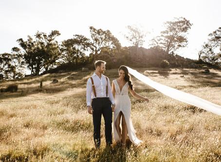 Louise and Stuart's Classic Australian Wedding