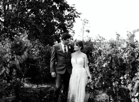 Chris & Laura's Country Wedding, Blampied VIC