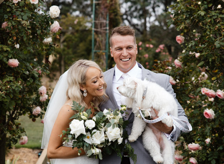 Simone and Jordan's Beautiful Backyard Wedding