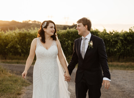 Cristina and Anthony's Classic Winery Wedding