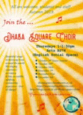 Dhaba Square Choir poster Autumn 2019.jp