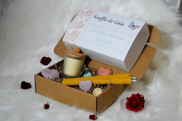 Coffret Bien-être LOVE - Parfums au choix